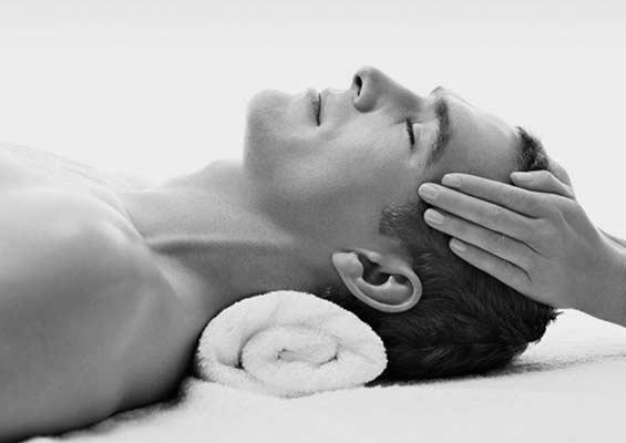 Muški kutak - masaža lica